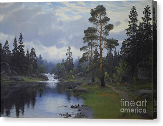 Landscape From Norway Canvas Print
