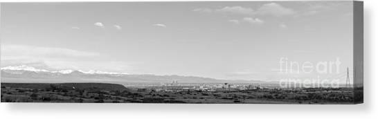 Colorado Avalanche Canvas Print - Landscape H10b  Denver by Otri Park
