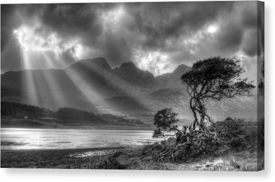 Landscape Scotland Canvas Print