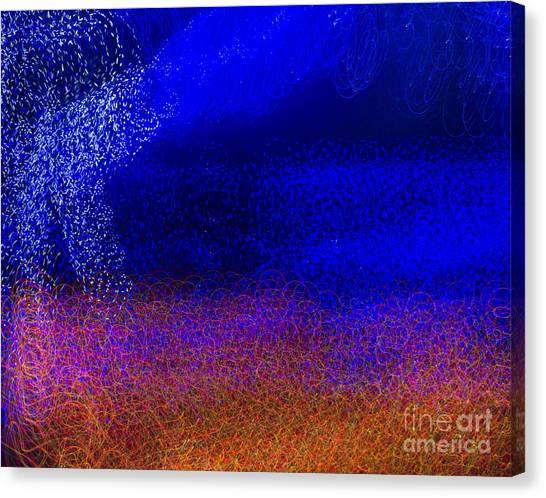 Landscape Of Light 1 Canvas Print