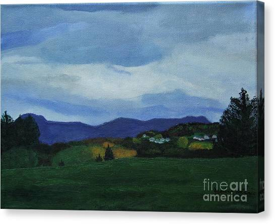 Landscape Of Sola Norway Canvas Print