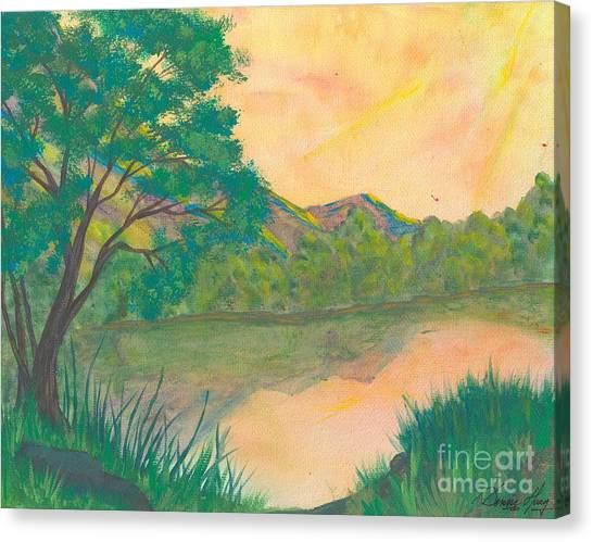 Landscape Of The Mind Canvas Print