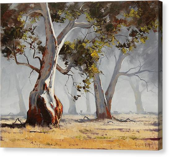 Graham Canvas Print - Landscape Trees by Graham Gercken