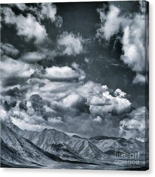 Tundras Canvas Print - Land Shapes 28 by Priska Wettstein