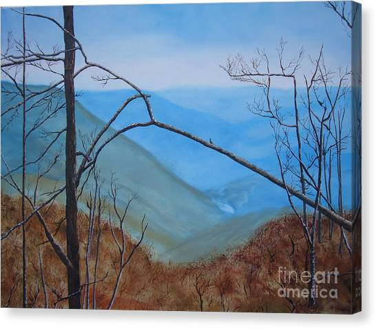 Lane Pinnacle Canvas Print