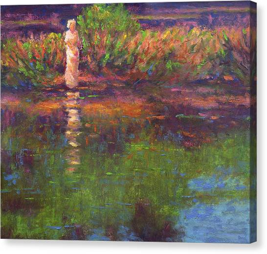 Langan Lake Reflections Canvas Print