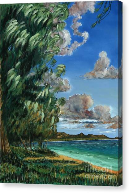 Lanikai Beach Canvas Print