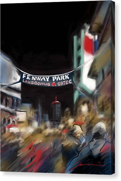 Lansdowne Street Canvas Print