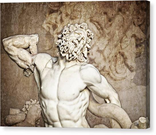 The Vatican Museum Canvas Print - Laocoon by Joe Winkler