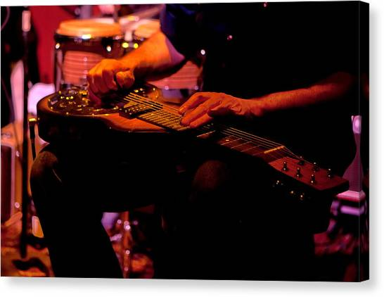 Lap Steel Canvas Print
