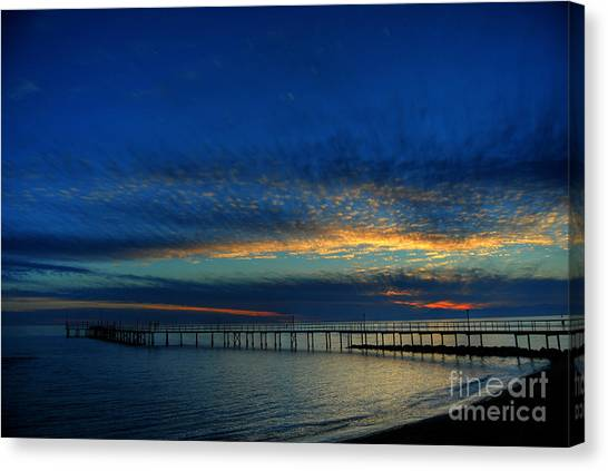 Lapis Sky Canvas Print