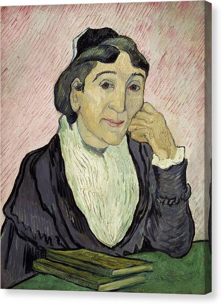 Post-modern Art Canvas Print - L'arlesienne Madame Ginoux by Vincent van Gogh