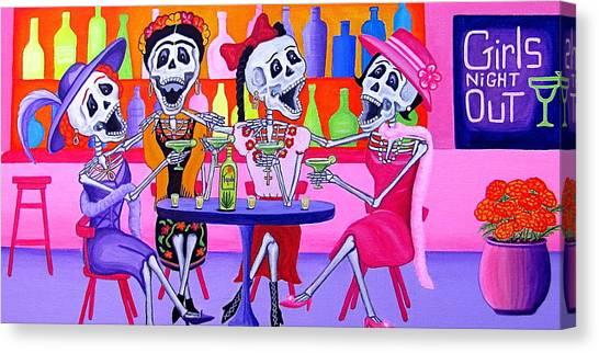Las Borrachitas Canvas Print