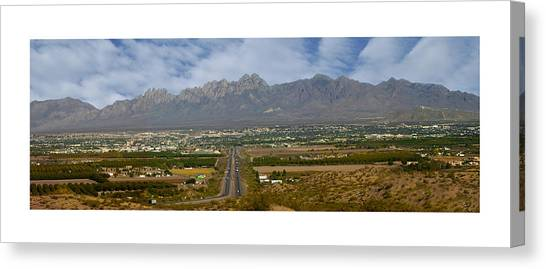 Las Cruces New Mexico Panorama Canvas Print