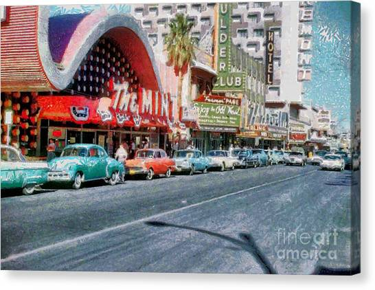 Las Vegas 1959 Canvas Print