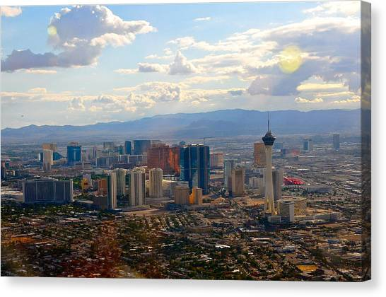 Las Vegas  Canvas Print by Amanda Miles