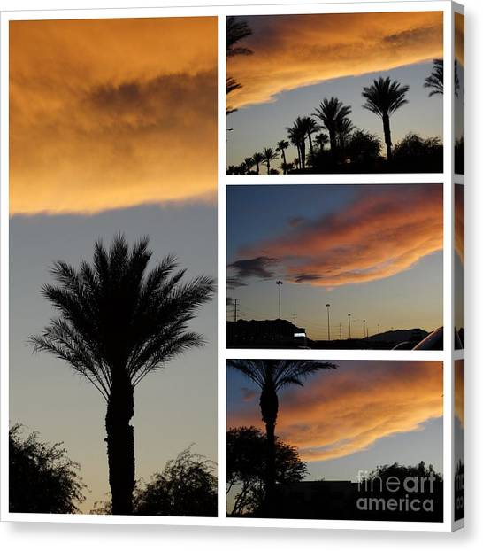 Las Vegas Sunset Canvas Print