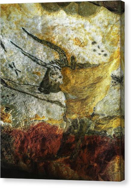 Lascaux II Number 3 - Vertical Canvas Print