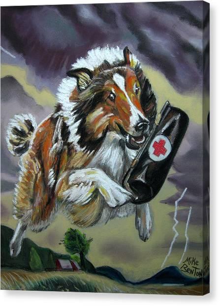 Lassie Canvas Print