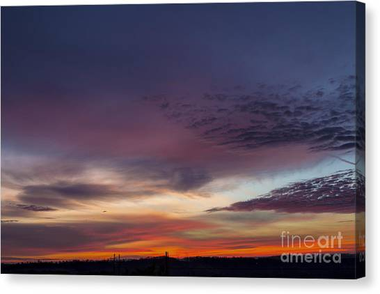 Last 2012 Sunrise Canvas Print