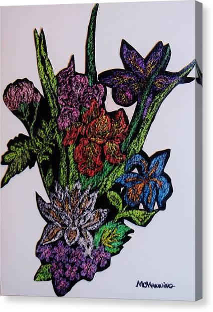 Last Bouquet Canvas Print