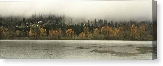Last Breath Of Fall Canvas Print