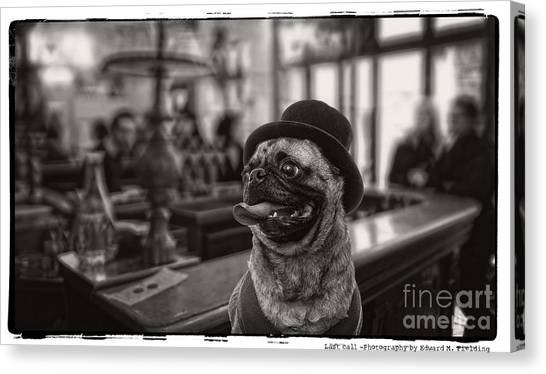 Tongue Canvas Print - Last Call by Edward Fielding