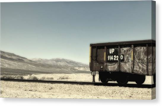 Last Car On The Block Canvas Print