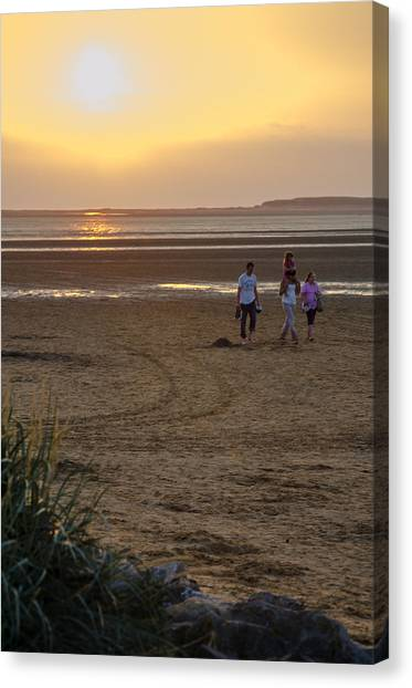Last Colourful Days Of Summer Canvas Print