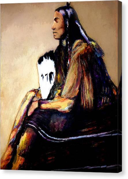 Quanah Parker- The Last Comanche Chief Canvas Print