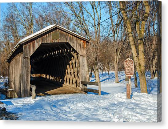 Last Covered Bridge Canvas Print