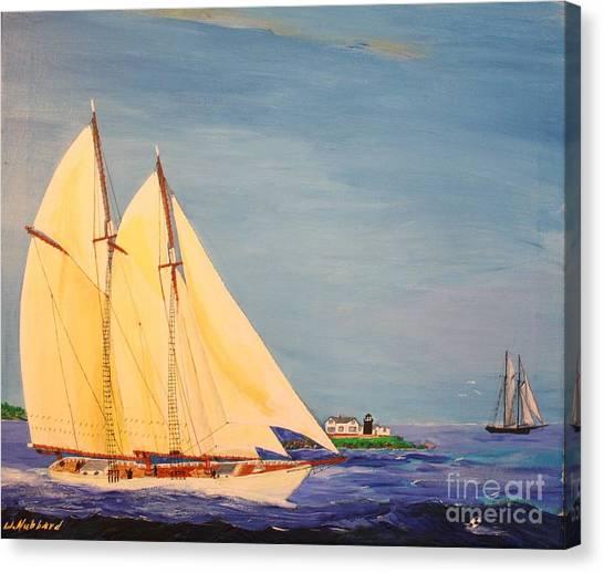 Last Cruise Of Sch. Arethusa Canvas Print