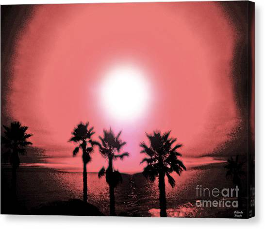 Last Day Of Summer... Canvas Print by Belinda Staubs