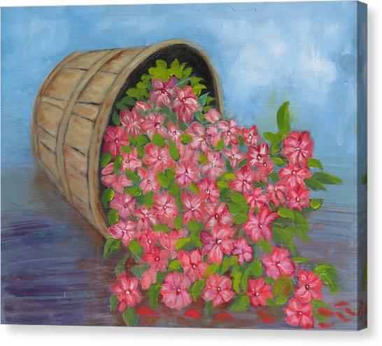 Last Flowers Of Summer Canvas Print