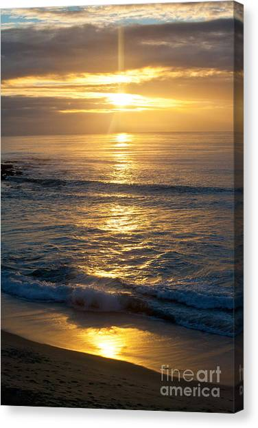 Last Light Canvas Print by Chris Heitstuman
