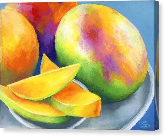 Mango Canvas Print - Last Mango In Paris by Stephen Anderson