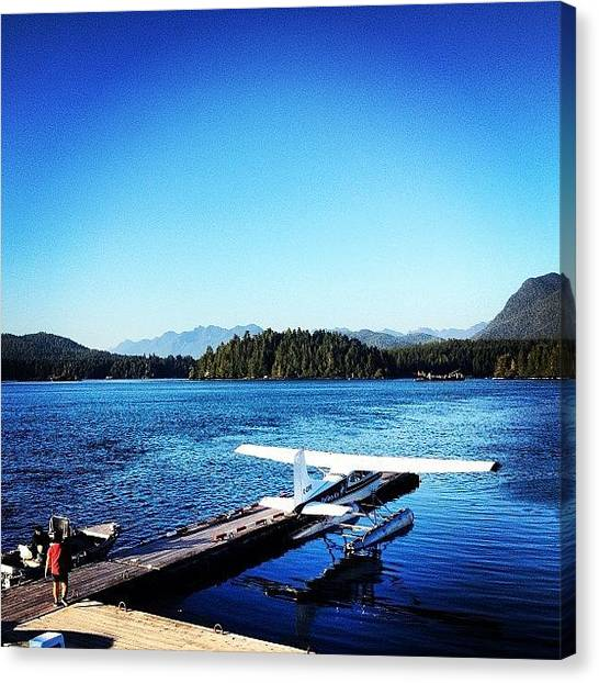 Seaplanes Canvas Print - Last Night In Bc! Going To Miss The by Christian Konigs