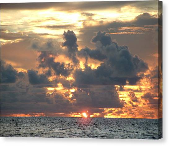 Canvas Print - Last Rays by Christine Rivers