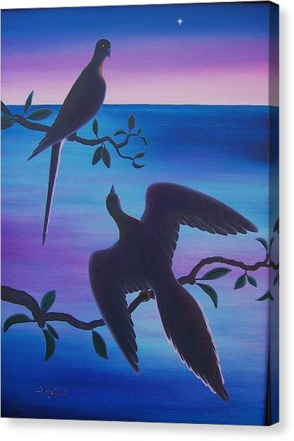 Last Sunrise To Extinction Canvas Print