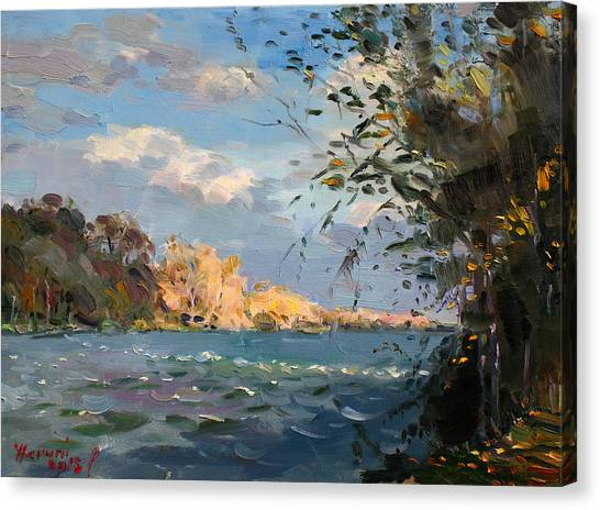 Niagara Falls Canvas Print - Late Afternoon On Goat Island by Ylli Haruni