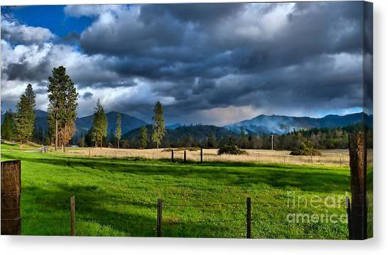Late Afternoon Weather Canvas Print
