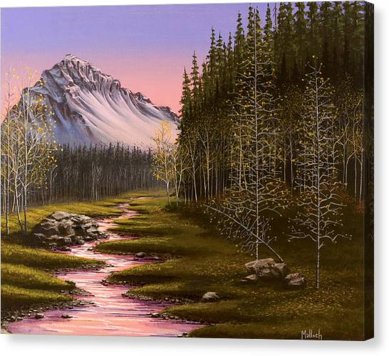 Late In The Day Canvas Print