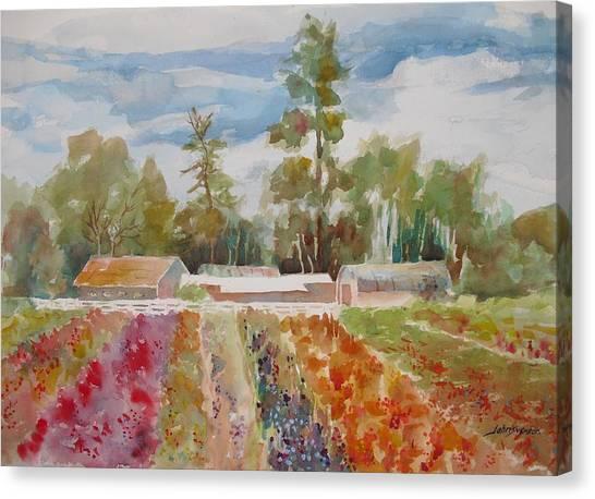 Late Season Exhibit  Canvas Print