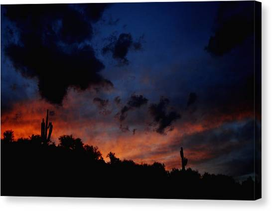 Late Sky Canvas Print by Alfredo Martinez