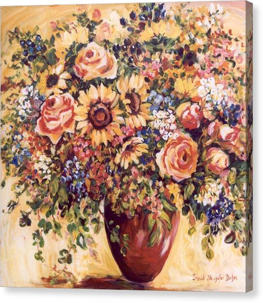 Late Summer Bouquet Canvas Print