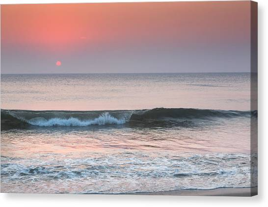 Sunrise Canvas Print - Late Summer Sunrise by Bill Wakeley