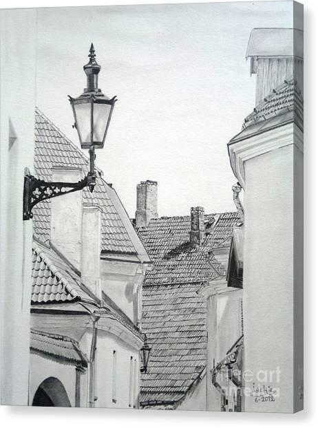 Latern Canvas Print
