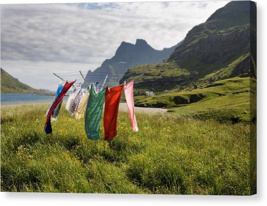 Laundry Canvas Print