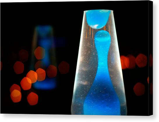 Lava Lamp Canvas Print by Emac Images