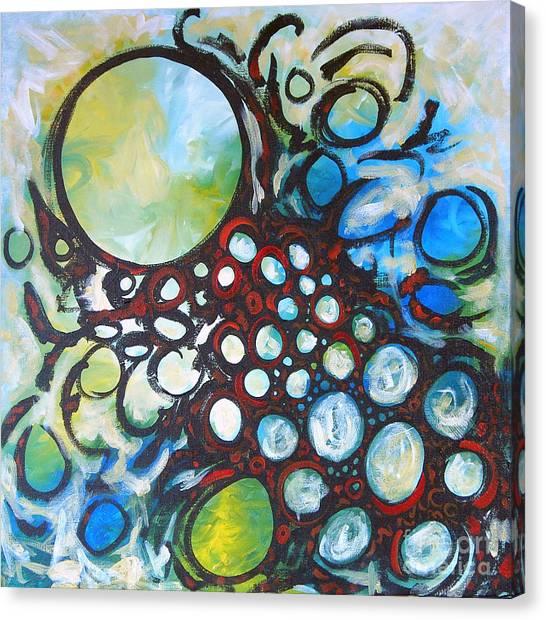 Lava Lamp Studio No.1 Canvas Print